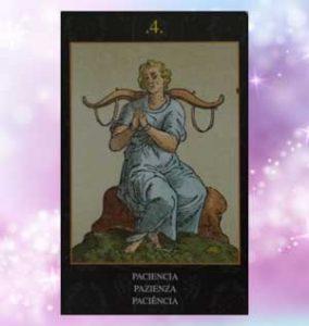 Oracolo di nostradamus significato carte pazienza