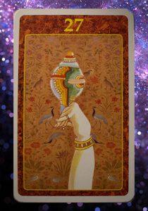 L'oracolo del Karma: cosa ci diranno queste splendide carte? la conchiglia