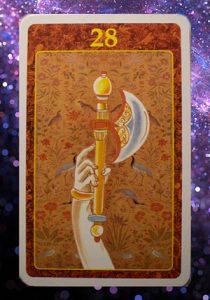 L'oracolo del Karma: cosa ci diranno queste splendide carte? l' ascia