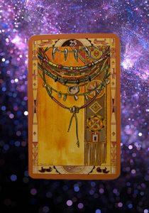 Il misterioso mazzo di carte dell' oracolo dei pelle rossa
